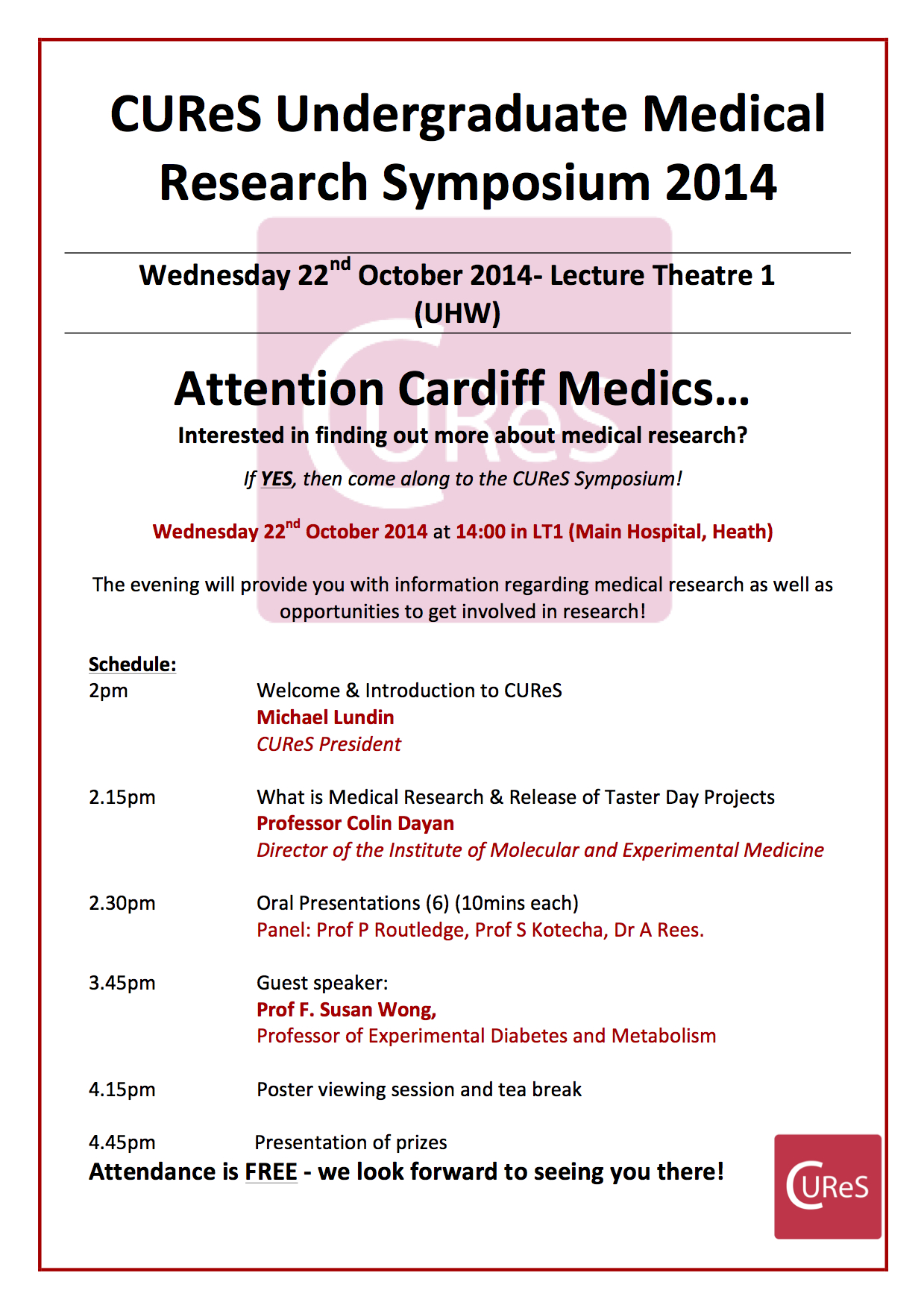 CUReS Undergraduate Research Symposium programme vs 2.0