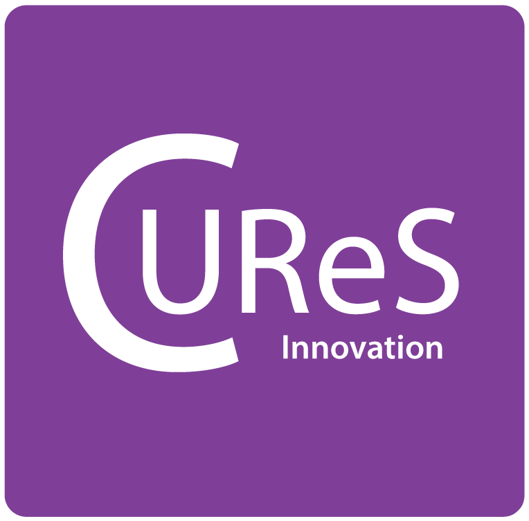 Cures Rounded Logo Innovation